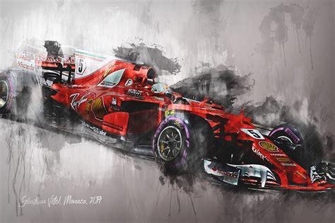 Camier Canvas by Formula 1 Canvas Wall Prints Motorsport