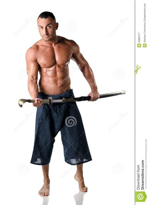 peignoir de bain descs 1092 martial muscular with kimono trousers and