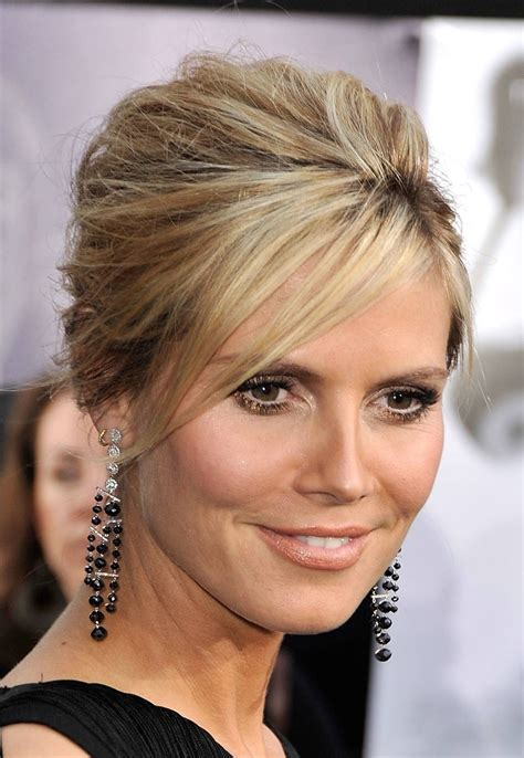 pictures of updos for high foreheads beauty and skincare side bangs bangs and updo