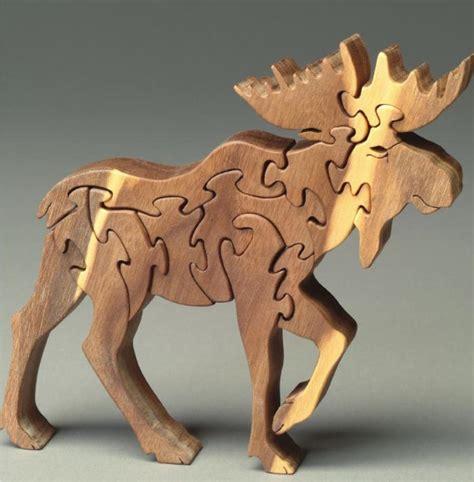 Mainan Rusa selamat datang dipusat mainan kayu puzzle kayu rusa hutan