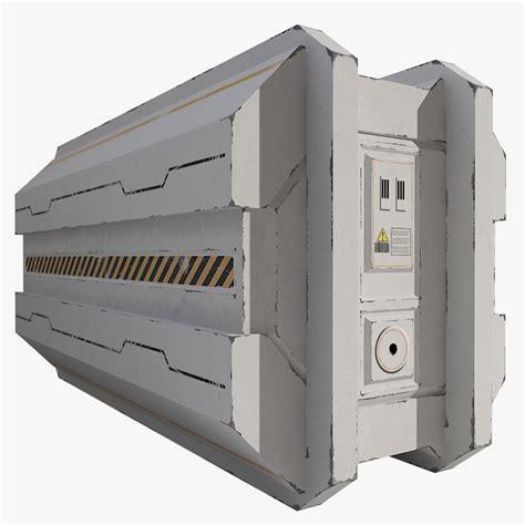 Hugo Army Ori Non Box 3d model of sci fi