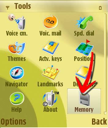 Memory Card Nokia N73 how to format memory cards in a nokia n73 6 steps with