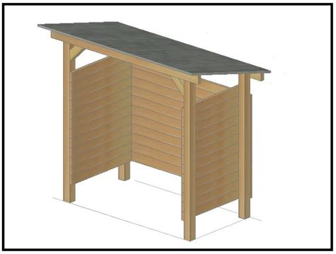 tettoia per legnaia come costruire una legnaia con il fai da te