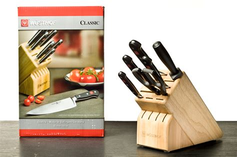 Kitchen Knives Set Reviews 2013 W 252 Sthof Classic 7 Pc Knife Block Review Chow