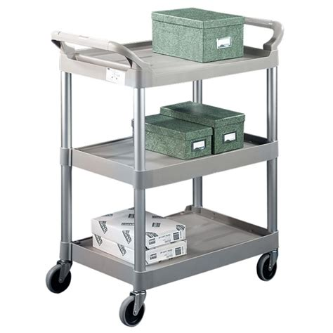 Rubbermaid 3 Shelf Cart by Rubbermaid 3 Shelf Utility Service Cart Quickship