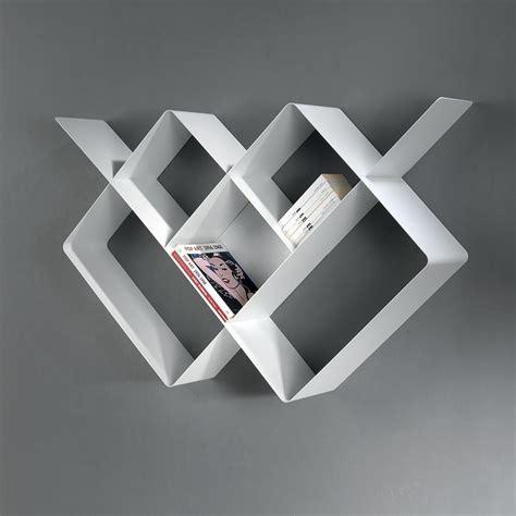 libreria a muro moderna mondrian libreria a parete moderna in metallo componibile