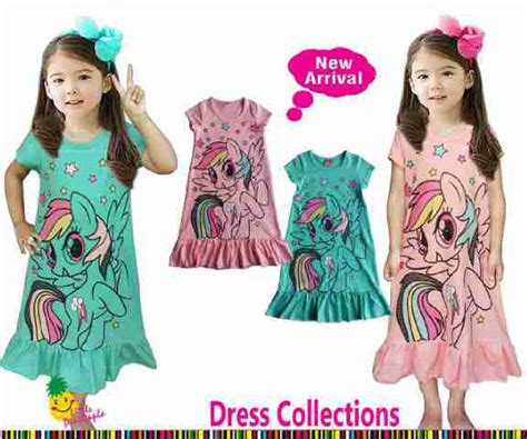 Pony Dress Tosca jual dress anak pony umur 1 2 3 4 5 6tahun