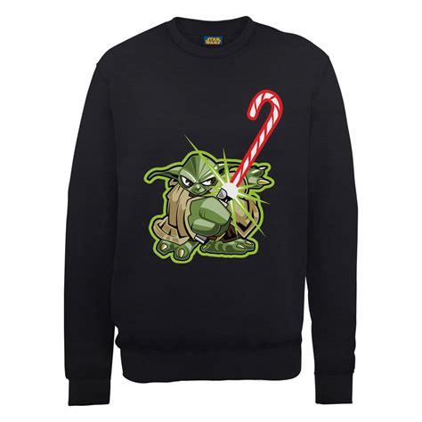 Sweater Jumper Anime Ja Blc 06 wars yoda sweatshirt black merchandise zavvi