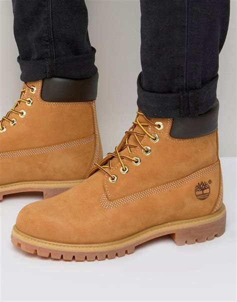 timberland timberland classic premium boots at asos