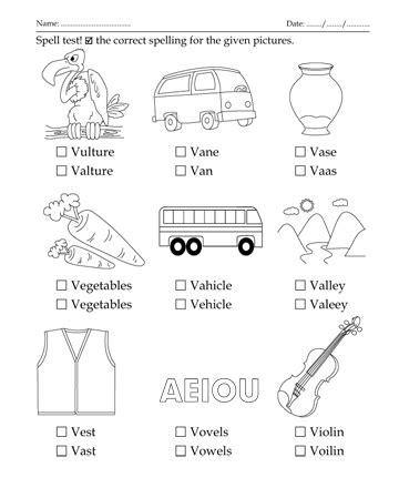 colors that start with v spelling test letter start with v printable coloring worksheet