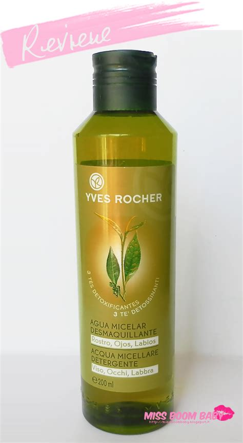 si鑒e yves rocher review acqua micellare detergente yves rocher paperblog