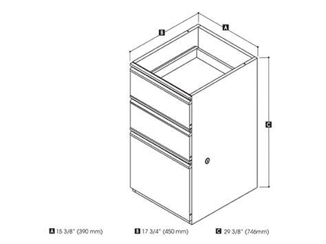 Pedestal Dimensions Prestige Plus File Pedestalby Bestar Smart Furniture
