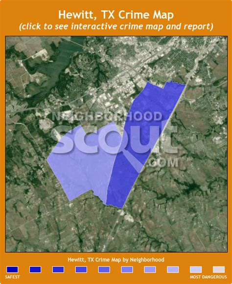 hewitt texas map hewitt tx crime rates and statistics neighborhoodscout
