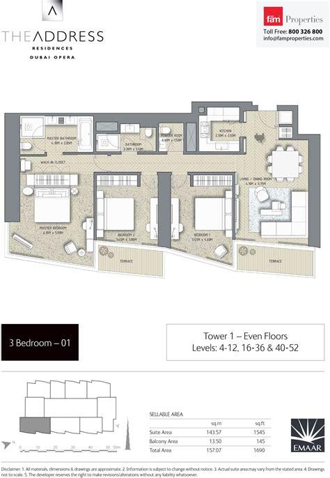 floor plans by address floor plans the address residences dubai opera downtown dubai