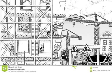 Free Construction Site Coloring Pages   Murderthestout