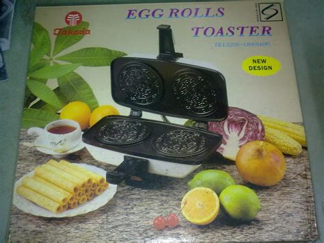 Egg Roll Toaster jual egg roll toaster takada cetak kue semprong