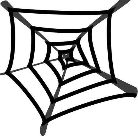 clipart web spiders web black clip at clker vector clip