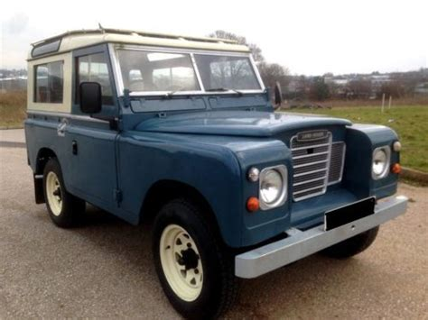 1975 land rover sell used 1975 land rover defender uk in vero