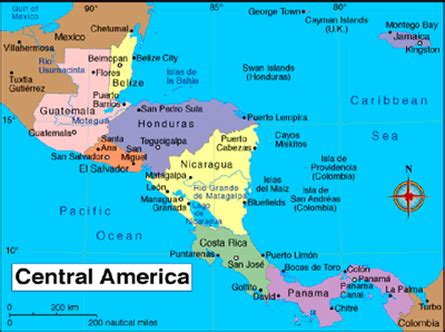 House Organization by Nicaragua S Location The Culture Of Nicaragua