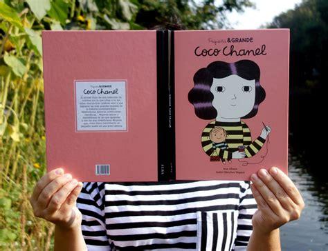 libro coco chanel little people coco chanel ana albero illustration