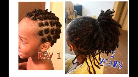 pics of locs growth stages zion s 2 year loc journey update from beginning to now
