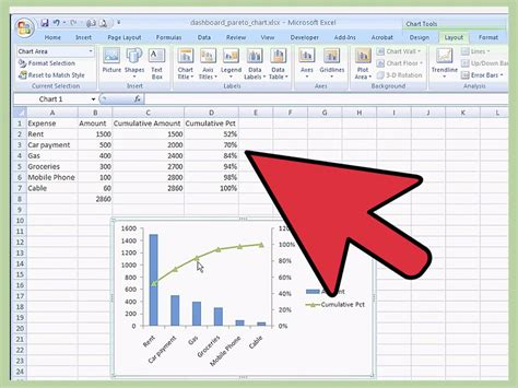 Create A by How To Create A Pareto Chart In Ms Excel 2010 14 Steps