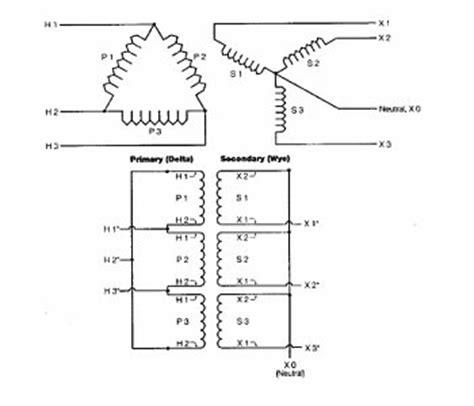 delta to wye transformers wiring 32 wiring diagram