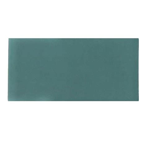 1 x 3 turquoise floor tile splashback tile contempo turquoise frosted glass mosaic