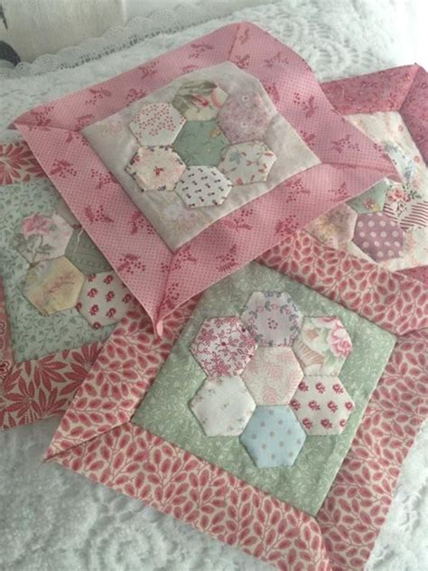 Hexagon Shapes For Patchwork - 69 best hexagon images on hexagons patchwork