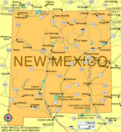 New Mexico The 47th State by Map Of New Mexico Became A State On January 6 1912 It