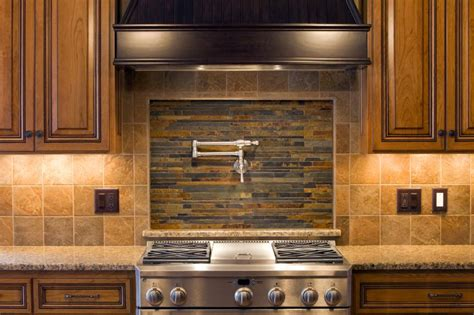pictures of backsplashes in kitchen kitchen backsplash design gallery slideshow