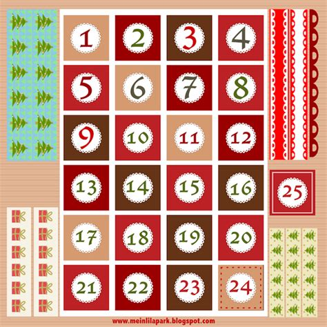 printable paper advent calendar free printable christmas advent calendar numbers and