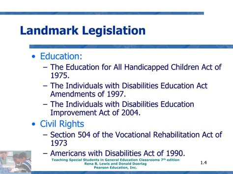 americans with disabilities act section 504 ppt chapter 1 powerpoint presentation id 753245