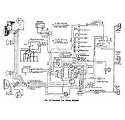 Complete Electrical Wiring Diagram For 1942 Chevrolet