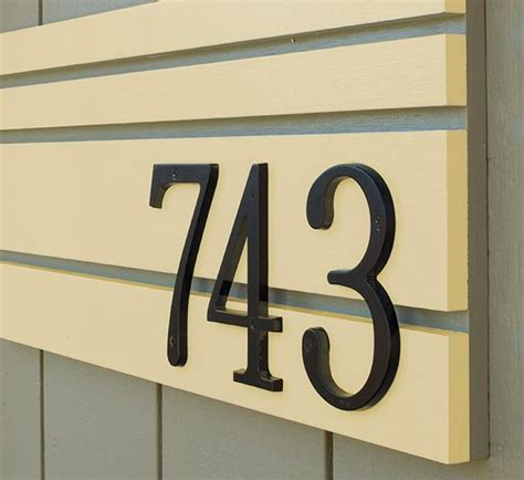 home address numbers creative ideas for displaying your home address diy