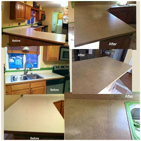 Spreadstone Countertop Refinishing Kit by Resurfaced Kitchen Counters With The Spreadstone
