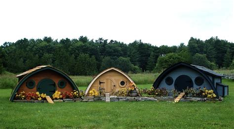 cute lord of the rings hobbit houses in new zealand take a tour around a hobbit house chicken coop