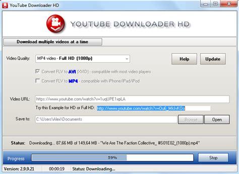 download youtube online hd youtube downloader hd скачать бесплатно для windows 7 8