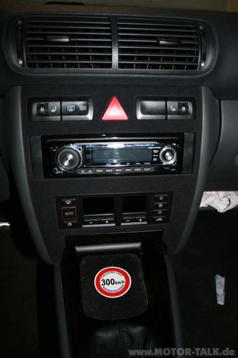 Audi A3 8l Radio by Radioblende Radio Einbauen Audi A3 8l 203767581