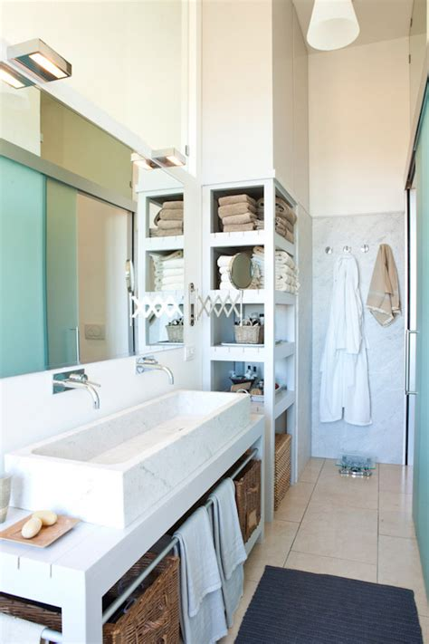 Open Shelving In Bathroom 15 Exquisite Bathrooms That Make Use Of Open Storage