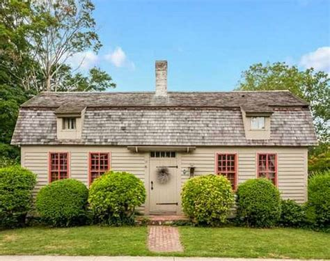 an historic cape cod cottage for sale in connecticut