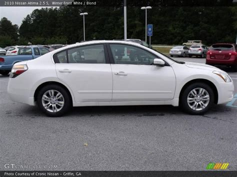 nissan altima white 2010 2010 nissan altima 2 5 s in winter white photo no