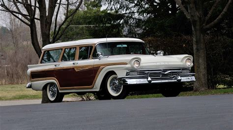 Country Ford by 1957 Ford Country Squire Wagon S195 Indy 2014