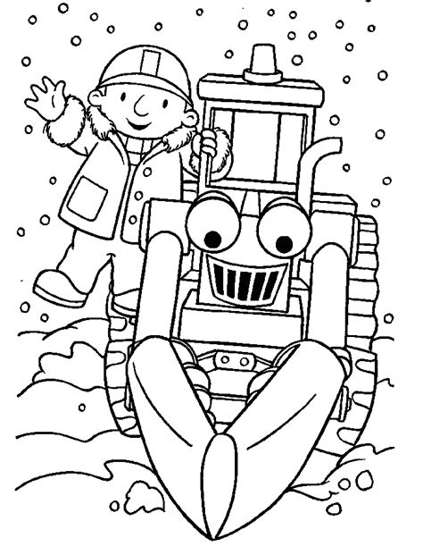 bob the builder coloring ideas coloring pages