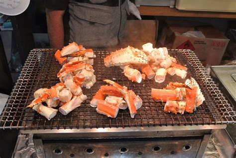 broiled king crab legs grilled king crab leg picture of tsukiji jogaii market chuo tripadvisor
