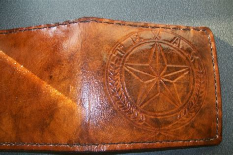 Handmade Designer - buy a handmade custom leather wallet with custom interior