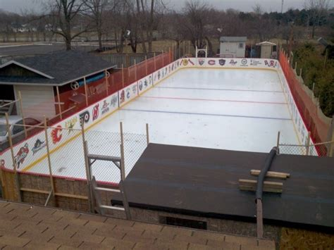 how to make a backyard skating rink amazing backyard hockey rink outdoor furniture design