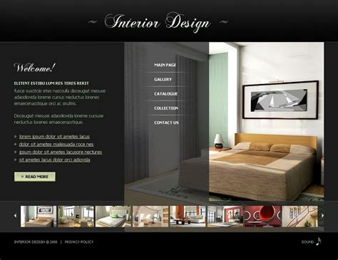 interior design company profile template word 8 best swish interior website themes templates free