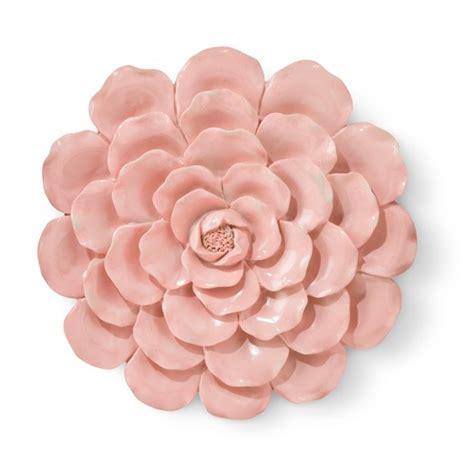 4 Pink Flower Wall D Cor Picture Print pink flower wall d 233 cor pillowfort target