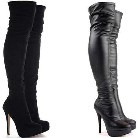 high knee heels knee high heel boots the sexiest ways to wear them